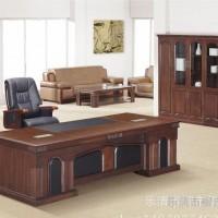 批发品牌办公家具卓瑞老板桌实木大班台办公桌现代简约主管桌