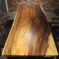 南美胡桃木实木大班桌电脑桌茶台个性办公桌创意会议桌