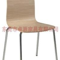 特价简约 时尚 曲木椅 餐椅 木板色 椅子 木板式家具 弯板椅BW-072