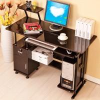 书亚 特价烤漆台式电脑桌 办公桌写字台简约书桌简约时尚电脑桌