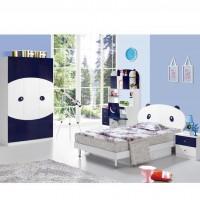 新品儿童家具套房四件套 儿童床转角书桌三门衣柜床头柜