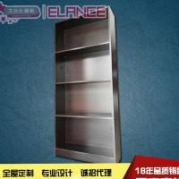 无醛书架置物架简约书柜储物柜实木颗粒板式家具 工厂