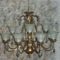 新古典欧式水晶吊灯客厅卧室餐厅复式楼吊灯