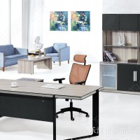 办公家具新款总裁办公桌中泰 老板台时尚简约经理办公桌