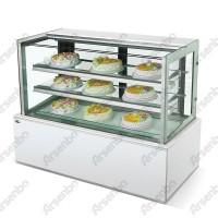 供应雅绅宝日式直角蛋糕冷藏柜 蛋糕柜展示柜 后开门蛋糕柜