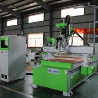 济南鲁雕数控开料机厂家  LD-1325双主轴加钻包 加工中心  板式家具数控开料机价格