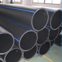 pe管塑料管道黑色聚乙烯管道国标抗冲击DN150pe供水管材热熔管道