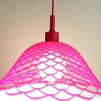 ** 创意剪漏网状硅胶吊灯 DIY彩色硅胶吊灯 简约时尚