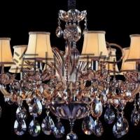 厂家定制宾馆水晶碟水晶中柱吊灯
