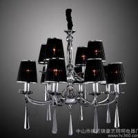 ,豪艺照明批发现代 水晶灯蜡烛灯吊灯WMD30006系列