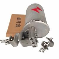 铝合金光缆接头盒   含熔纤盘  铝支架  接续盒