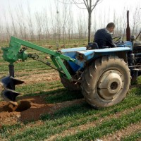河南挖坑机 普航机械畜牧围栏立柱打坑机参数 葡萄支架打孔机厂家