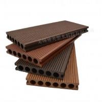 迪美木塑  圆孔地板 140*25塑木 厂家供应 空心地板