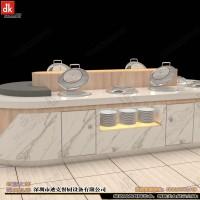大理石 自助餐台 设计制作 布菲台生产厂家