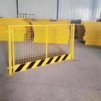 保定华川厂家供应各种 电梯门  基坑护栏 临时施工护栏!