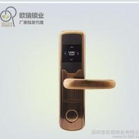 OR00青古铜酒店锁 智能酒店宾馆门锁  酒店门锁