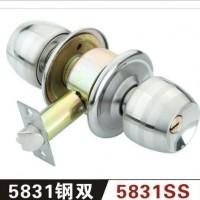 5831球锁 5831铜球锁  木球锁 不锈钢门锁