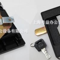 密集架豪华锁闪电锁 铁皮柜 工具柜锁 黑色望通锁 文件柜挂锁门锁