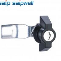 SP-MS408-1工具箱锁 抽屉门锁 仪表箱体锁具 亚黑处理锁具