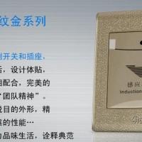 极浦低频感应卡取电 门锁配套取电开关 智能取电识别感应锁皮纹