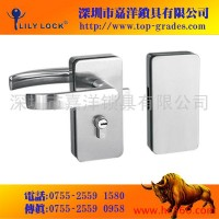 供应玻璃门锁 玻璃锁 玻璃门执手锁 GD20
