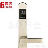电子门锁 细长面板感应锁 酒店 宾馆专用 智能刷卡锁 产地货源