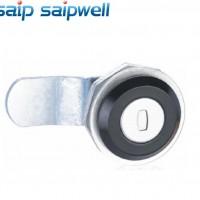 SP-MS407-1锌合金机械门锁 工具箱锁 仪表箱体锁具 亚黑电力箱锁