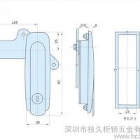 工业柜锁 开关柜锁 电柜门锁 MS405