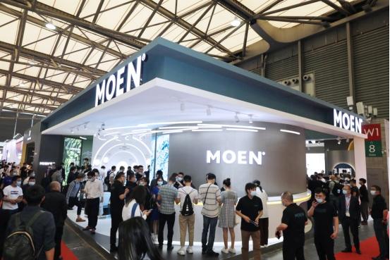 摩恩亮相2021国际厨卫展全品类产品演绎家居设计美学