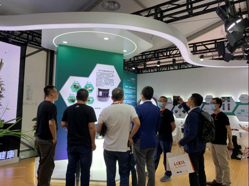 几何科技携健康检测智能马桶首次亮相中国国际厨卫展